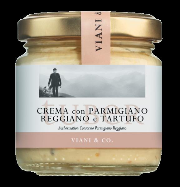 Viani, Crema con Parmigiano, Reggiano e Tarfufo, 90g
