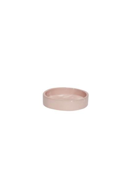 Hübsch, Keramik Schale, Rose ø11