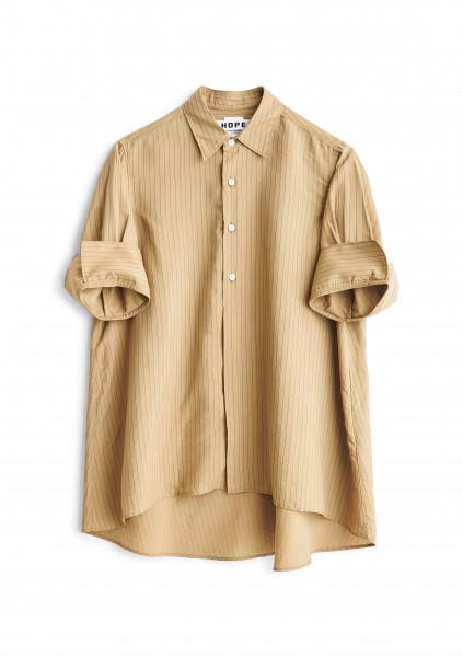 HOPE, Tour Shirt, Beige Stripe