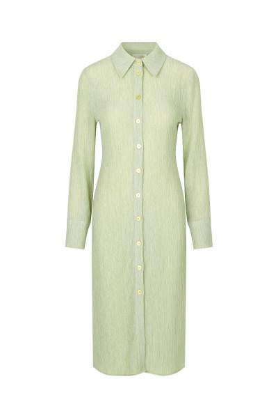 Stine Goya, Tomo Dress, Crinkled Tencel, Sage