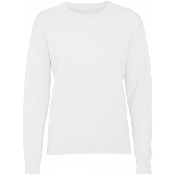 Colorful Standard, Women Crew Neck, Optical White