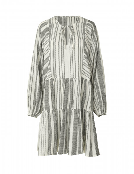 "MBYM ""Emmons"" Sanora, Dress, Black white stripe"