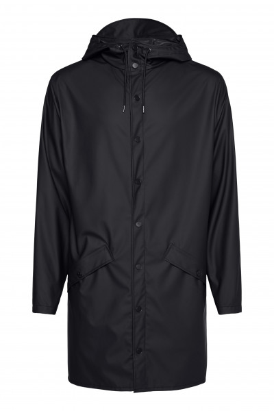 Rains, Long Jacket, Black