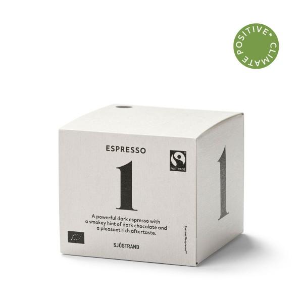 Sjöstrand, N°1 Espresso (10 Kapseln)