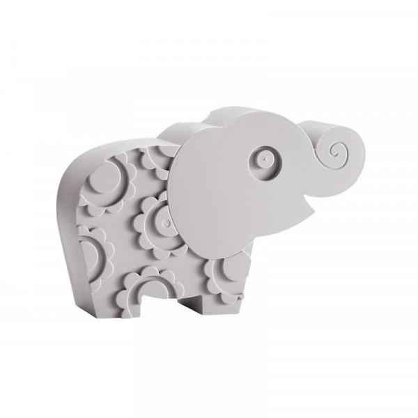 """BLA FRE """"Lunchbox"""" Elephant, Grey"""