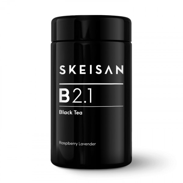 SKEISAN, B 2.1 Raspberry Lavender Black Tea - aromatised