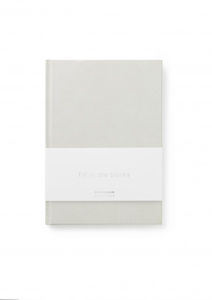 Normann, Notebook Small Silver Grey