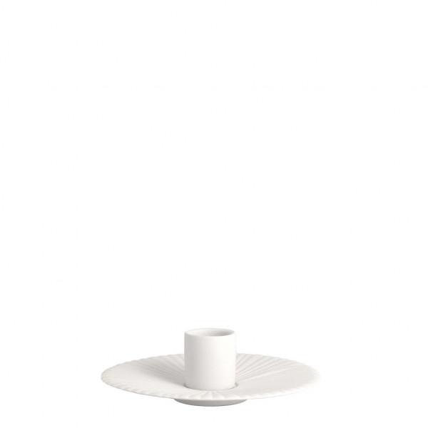 Storefactory, Holmby, kleiner weißer Kerzenhalter