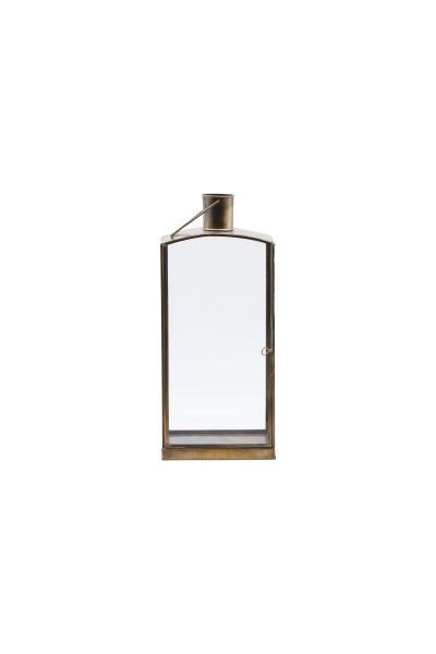 House Doctor, Lantern, Origi, Brass Antique, 16,5x11x36