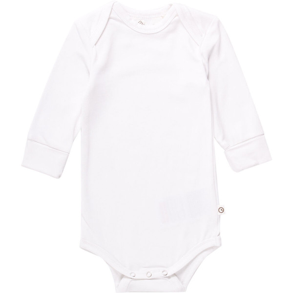 müsli by green cotton , Long-sleeved body, white