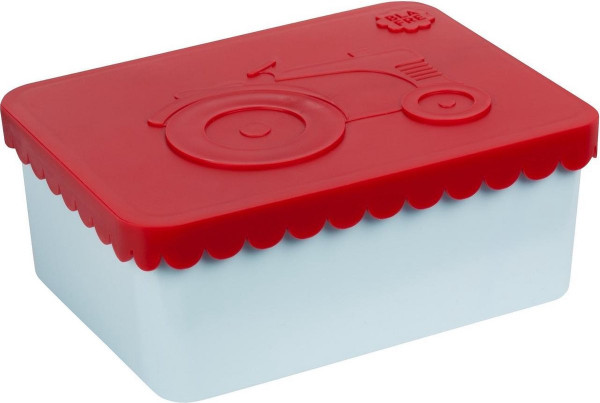 Bla fre, Lunchbox Tractor, Red/Light Blue