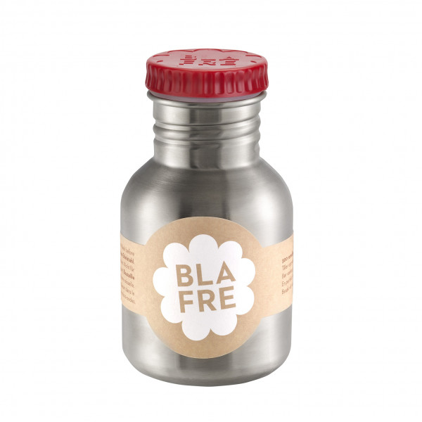 Bla fre, steel bottle, Red , 300ml