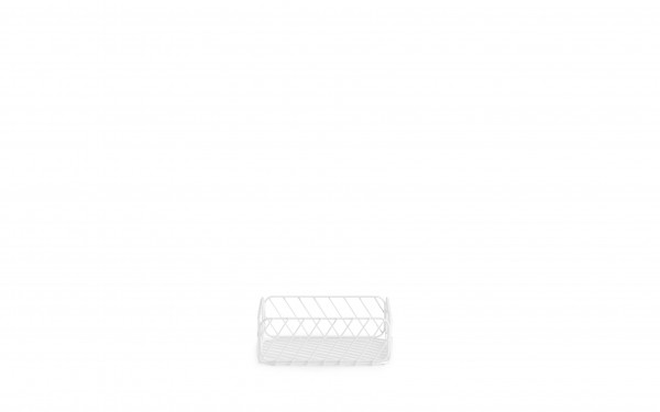 Normann, Track Basket 25x25xH9 white