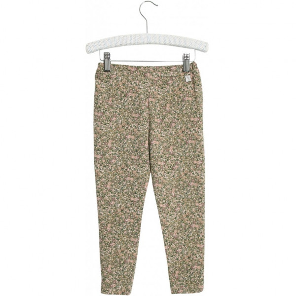 WHEAT, Soft Pants Abbie, Green Flowers