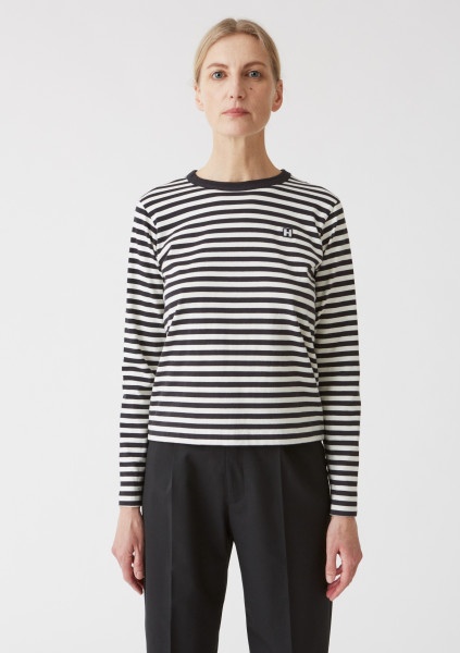 HOPE, First LS Tee, Black Stripe