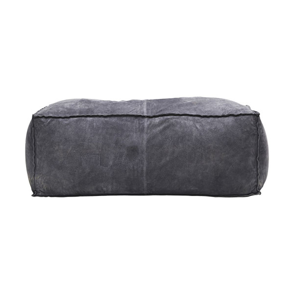 House Doctor, Pouf, Suede, Grey/Blue