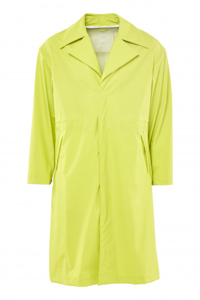 RAINS, LTD Curve Coat, Neon Yellow