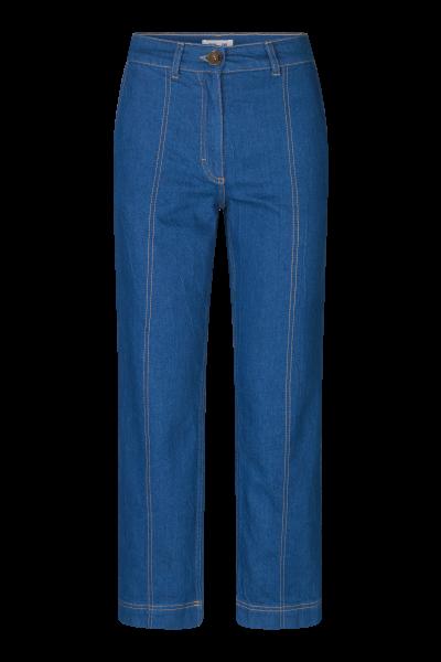 Noell Pants, Mid Blue Raw