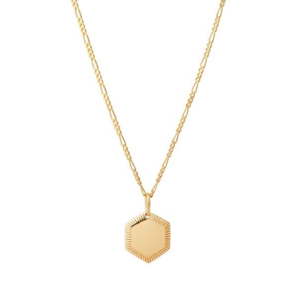 Maria Black, Kim 65 Adjustable Necklace Sterling Silver - High Polished Gold