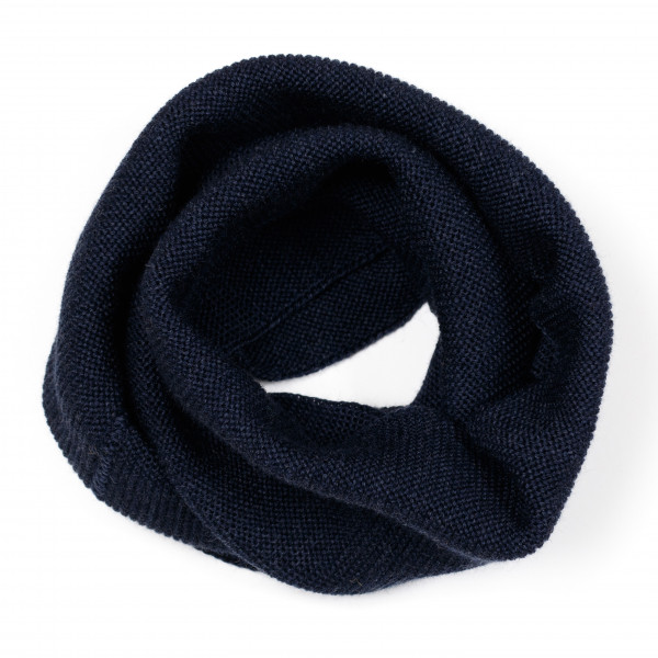 Huttelihut, TUPIE Neck Tube Wool, Navy