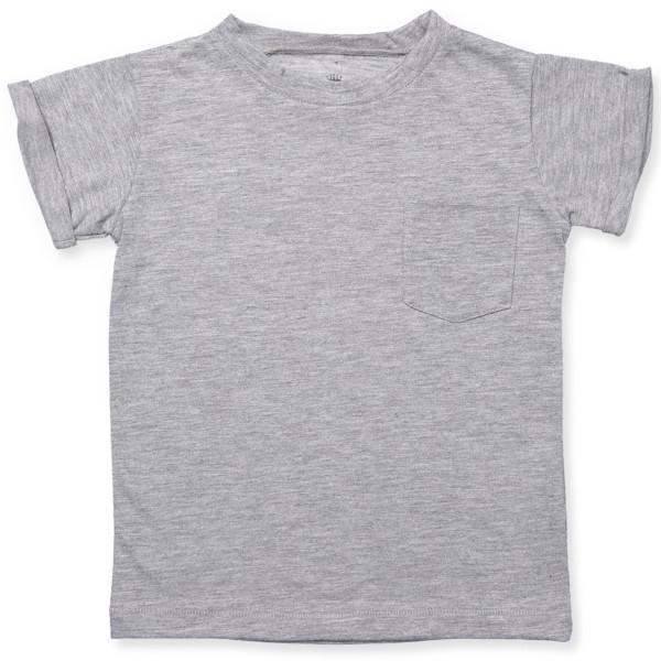 """Hust & Claire """"Aslan T-Shirt"""" grey melange"""