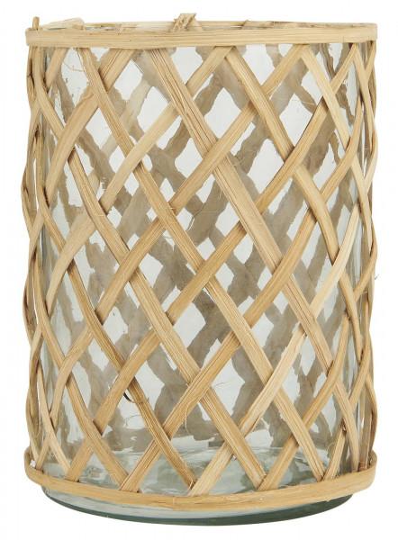 Ib Laursen, Glastopf mit Bambus klein