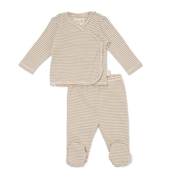 Konges Sløjd, Dio Wrap Cardigan and Pants, Casper stripe