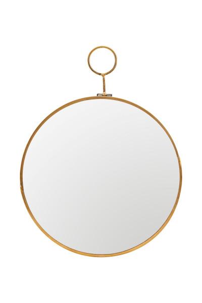 House Doctor - Mirror, Loop, Brass, ø22cm