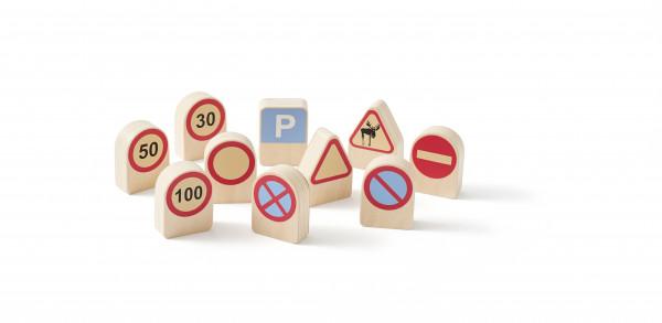 Scandic Toys, Verkehrszeichen Aiden 10 Stück