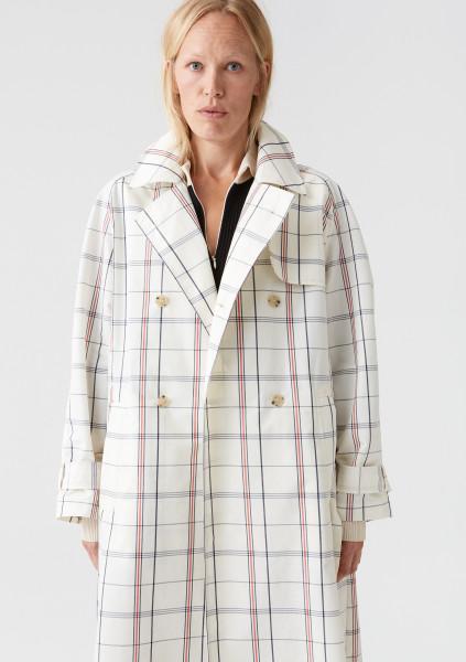HOPE Shield Coat, Creme Check, Size 36