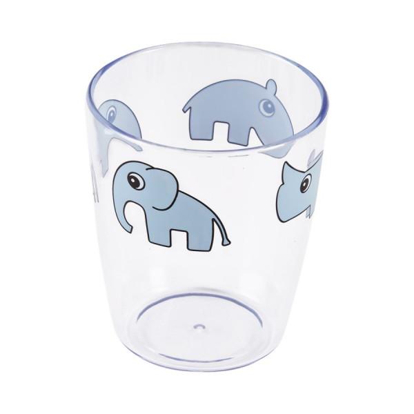 "Done By Deer ""Yummy mini glass"" Deer friends, blue"