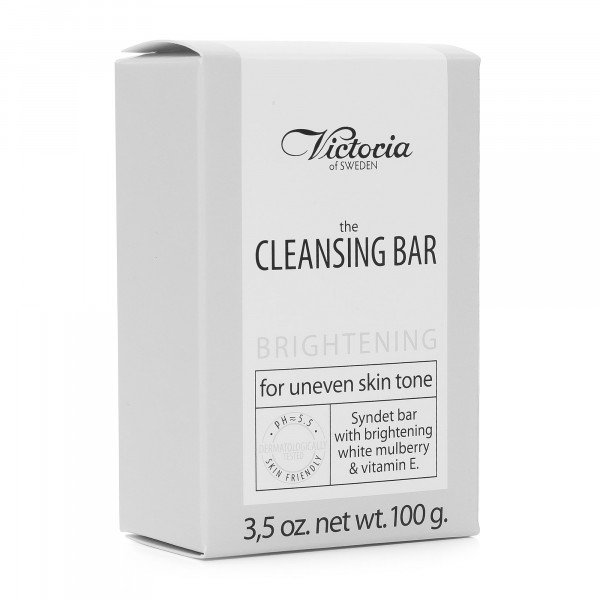 """Victoria Soap """"The Cleansing Bar"""", Brightening – for uneven skin tone, 100g"""