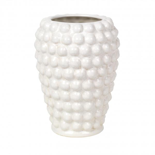 """Broste Copenhagen, Vase """"Dotty"""", Keramik Ivory"""