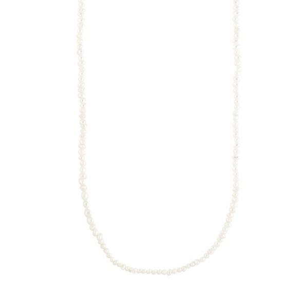 Jane Kønig, Row, Pearl Necklace, Silber vergoldet