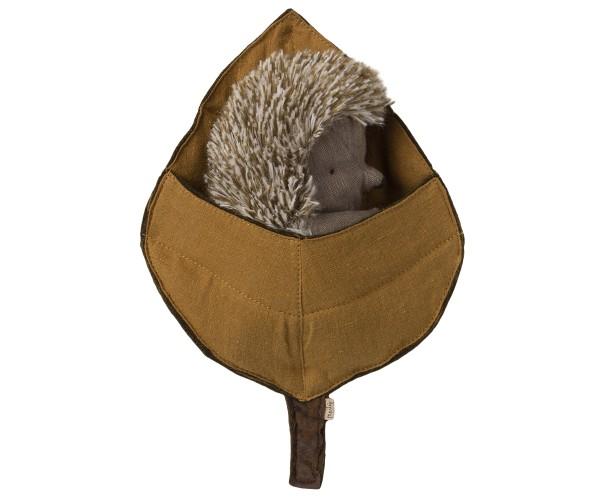 Maileg, Hedgehog in leaf