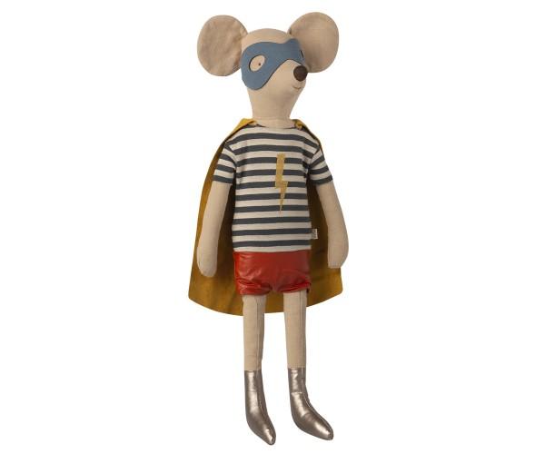 Maileg, Super Hero Mouse, Maxi Boy