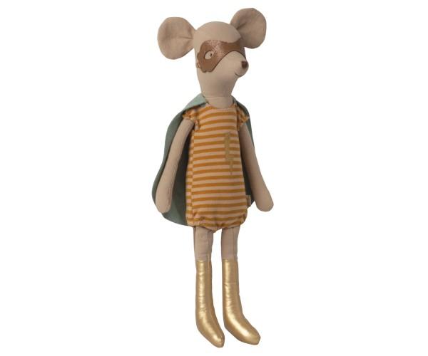 Maileg, Super Hero Mouse, Medium Girl
