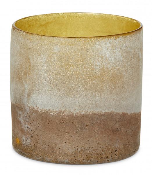YAYA Home, Two-Tone Desert Look Pot, Light Brown
