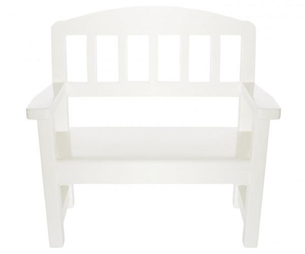 """Maileg """"Wooden Bench"""" Offwhite"""