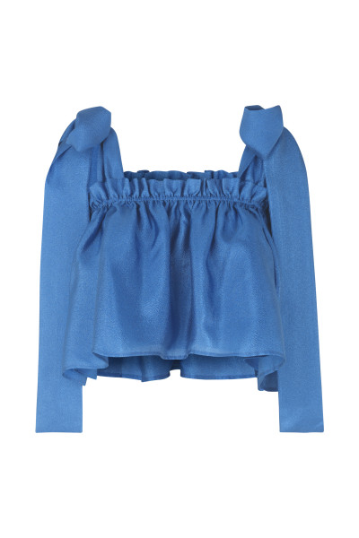 STINE GOYA Gia Top, Blue (M)