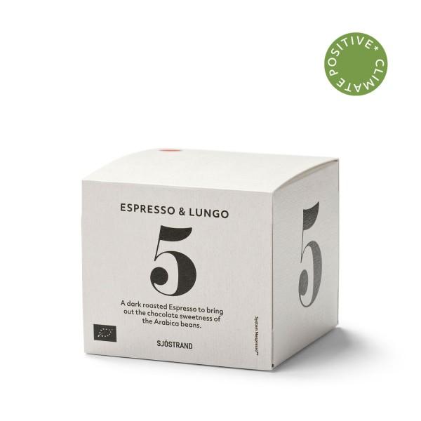 Sjöstrand, N°5 Espresso&Lungo (10 Kapseln)