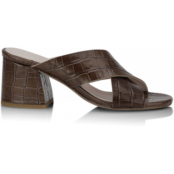 Gardenia, Massey Sandal, Brown Saddle
