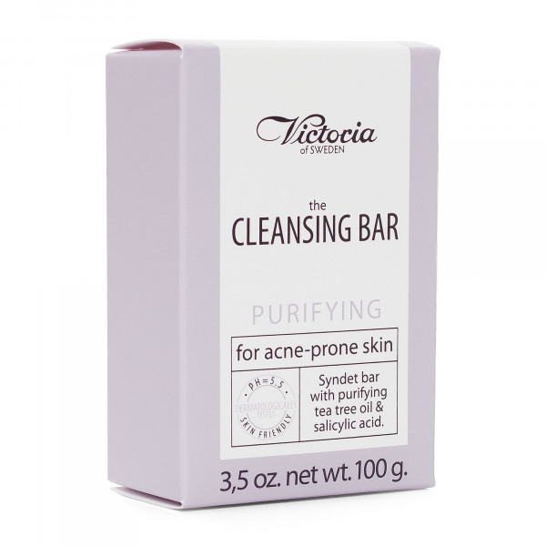 "Victoria Soap ""The Cleansing Bar"", Purifying – for acne-prone skin, 100g"