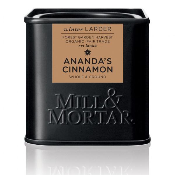 Ananda's Cinnamon, ground&whole, Org. 45 g