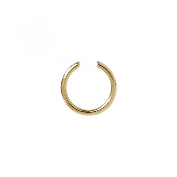 Maria Black, Twin Medi Ear Cuff, Sterling Silver - High Polished Gold
