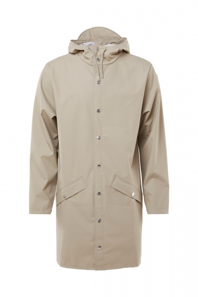 RAINS, Long Jacket, Beige