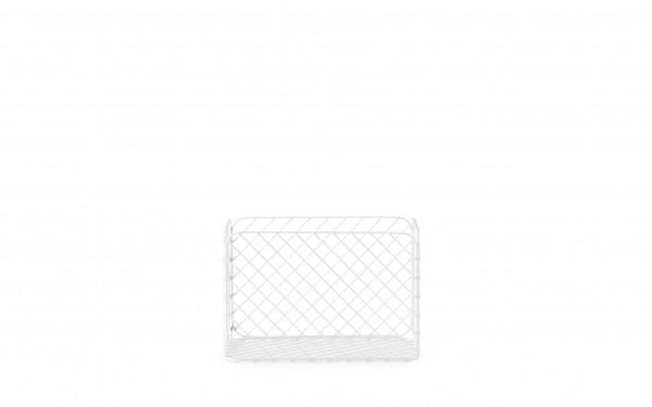 Normann, Track Basket 23x37xH25 White