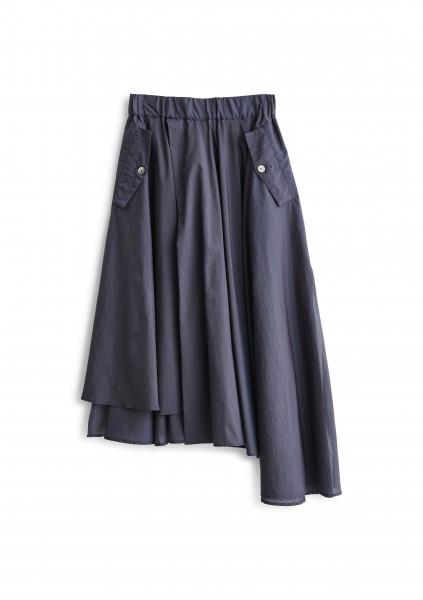 HOPE, Lap Skirt, Navy