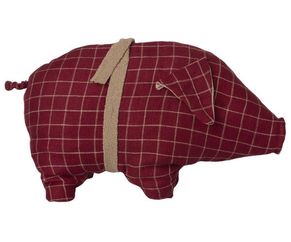 Maileg, Pig, Medium - Red