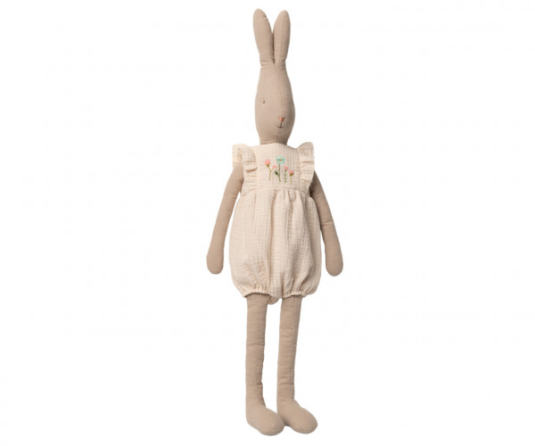 Maileg, Rabbit Size 5, Jumpsuit Off White